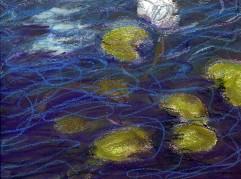 Lumpeita. Öljypastelli 2014 / Oil pastels 2014